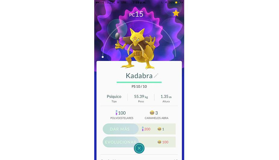 Kadabra es otro tipo de Pokémon que cuesta evolucionarlo. (Foto: Nintendo)