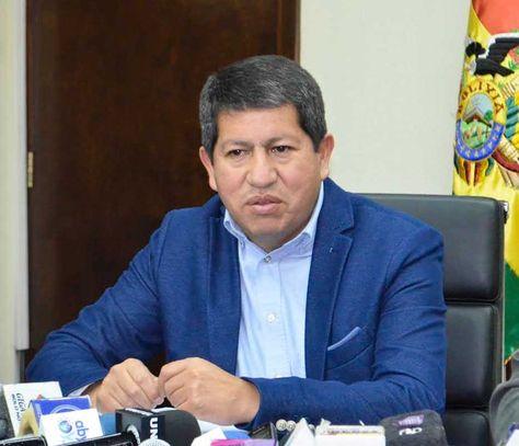 El ministro de Hidrocarburos y Energía, Luis Alberto Sánchez. Foto: La Razón