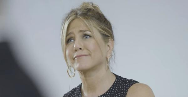 La pregunta que hizo llorar a Jennifer Aniston