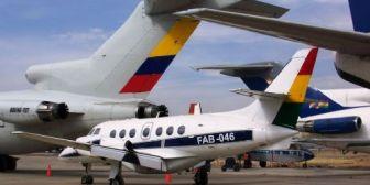 Denuncian que aviones civiles usan pistas militares generando negocio millonario para la FAB
