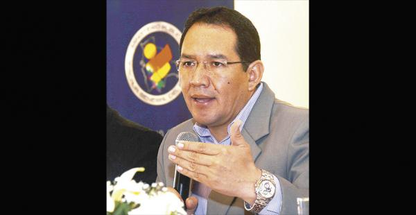 El fiscal general, Ramiro Guerrero, anunció el proceso contra Zapata