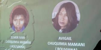Padre de hermanos Chuquimia pide disculpas a papás de Camila, la niña secuestrada