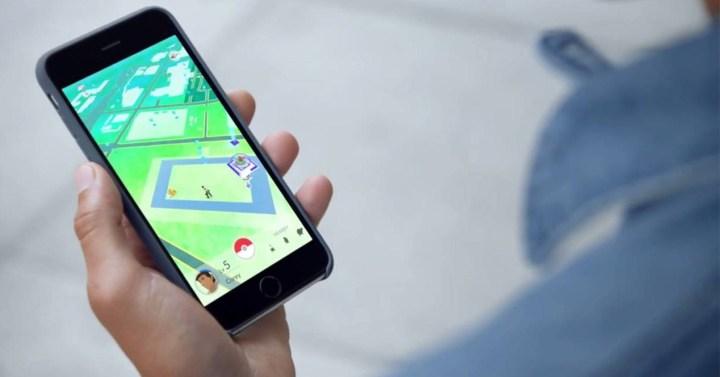 Pokemon GO en un iPhone