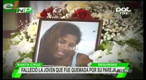Fallece joven que fue quemada por su pareja