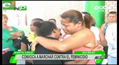 Convocan a marchar contra el maltrato y el feminicidio