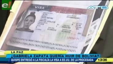 Denuncian que Zapata tenía lista su visa para salir del país