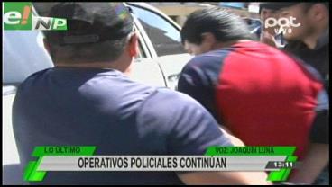 Policía capturó a dos presuntos atracadores