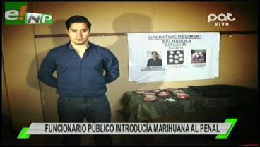 Funcionario de Gobierno detenido se declaró víctima de un engaño