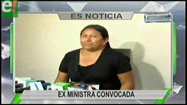 Titulares de TV: Achacollo será citada a declarar sobre el caso Fondioc