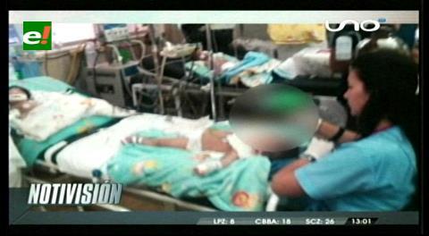 Menor de un año en terapia intensiva tras ser golpeado