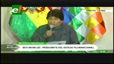 Evo Morales: Bolivia defenderá el Silala por vía humanitaria