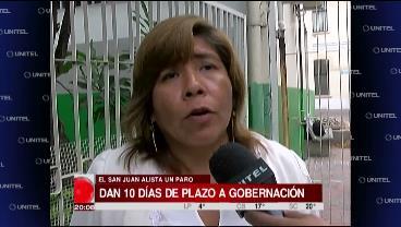 Trabajadores del Hospital San Juan de Dios inician paro indefinido la próxima semana