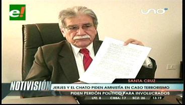 Notables afines a Evo le piden Amnistía Política