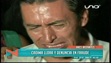 Elecciones en la Uagrm: Con lágrimas en los ojos, Cadima denuncia fraude