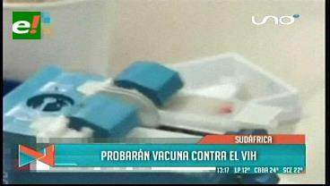 Probarán un vacuna contra el HIV en Sudáfrica a gran escala