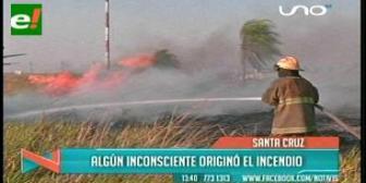 Aplicarán multas de 500 a 1.500 bolivianos por quemar basura en Santa Cruz