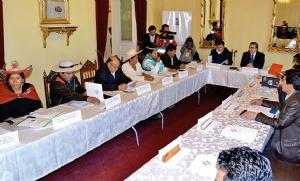 Gobierno convoca al Consejo Nacional de Autonomías para fines de agosto