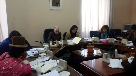 Miembros de la Comisión de Constitución aprueban nueva ley del Defensor del Pueblo