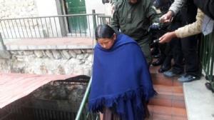 Achacollo fue trasladada al penal de Miraflores