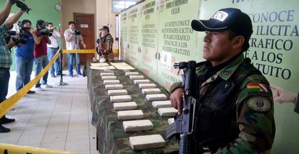En 10 días, la fuerza antidrogas realizó varios operativos con secuestro de sustancias controladas