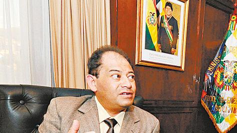 Ministro Carlos Romero Bonifaz. Foto: Alejandro Álvarez - archivo