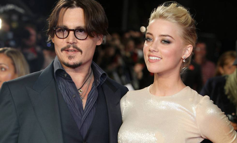 Johnny Depp y Amber Heard, en Londres en 2011.