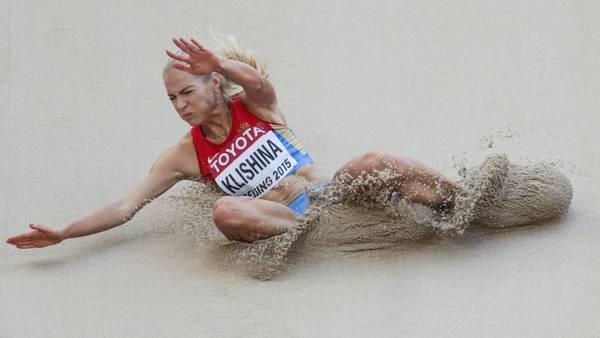 La rusa Daria Klishina fue readmitida por el TAS y podrá participar en la prueba de salto en largo. (DPA)