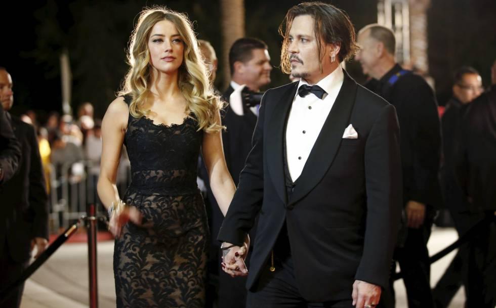 Johnny Depp y Amber Heard, en una foto de archivo.