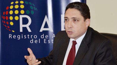 Héctor Arce, procurador general del Estado.
