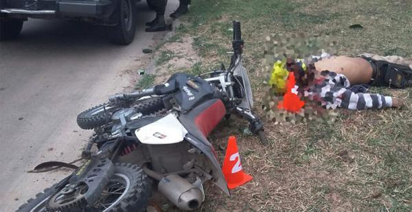 La víctima, que iba en una moto marca Pegasus, con placa 3677-YGX, tenía una factura en su bolso con el nombre de José Luis Torrico