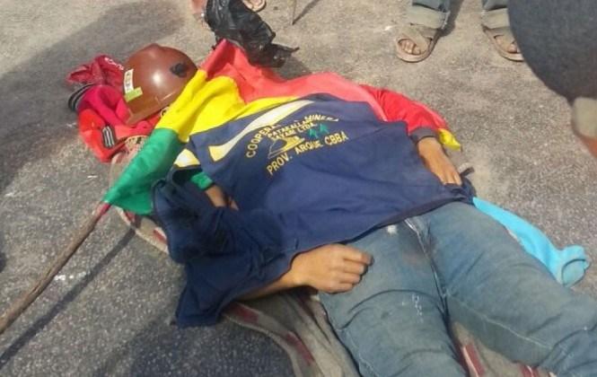 Dirigencia de los cooperativistas denuncia que hay un bloqueador muerto en Sayari