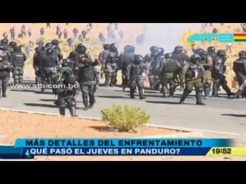 Difunden audio sobre los enfrentamientos en Panduro