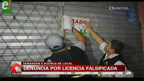 Alcaldía formaliza denuncia por falsificación de licencia