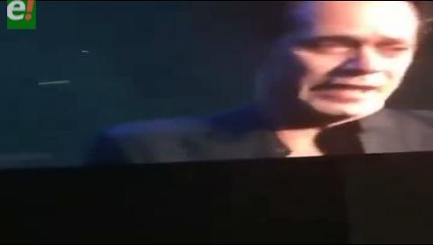 ¡No pudo cantar! Marc Anthony explotó en llanto al homenajear a Juan Gabriel