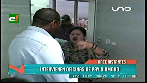 Intervienen la empresa PayDiamond denunciada por supuesta estafa