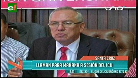 El rector convoca al ICU para tratar las elecciones