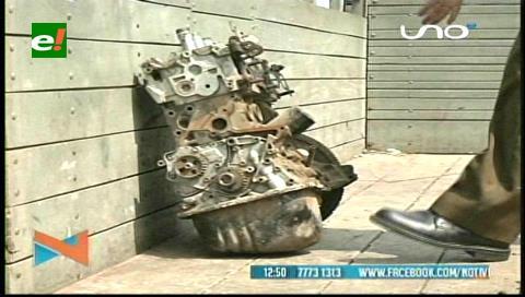 Operativo: Diprove busca autopartes robadas en La Morita