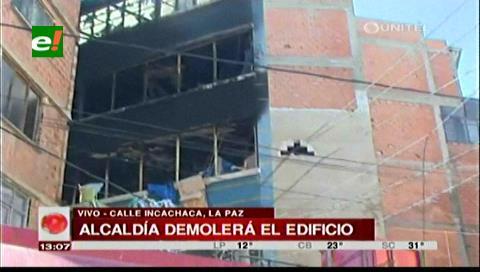 La Alcaldía afirma que el edificio que se quemó en la Uyustus se debe demoler