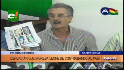 CAO denuncia el ingreso de leche de contrabando al país