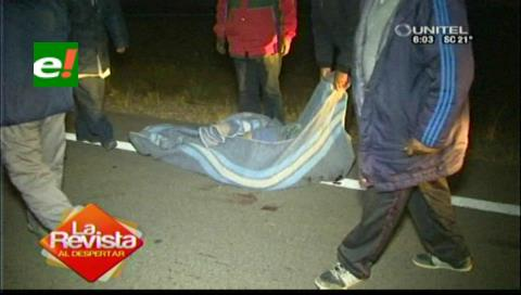 El cuerpo del viceministro Illanes fue encontrado tirado en la carretera