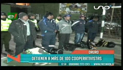Detienen a cooperativistas con dinamita intentando llegar a Panduro