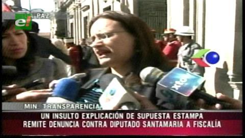 Ministerio de Transparencia investigará al diputado Santamaría por una denuncia de soborno