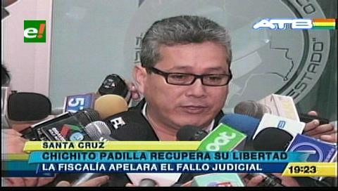 """Caso dron: Fiscalia apelará la liberación de Alberto """"Chichito"""" Padilla"""