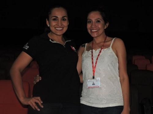 Ana Maria Vaca y Linda Cabrera