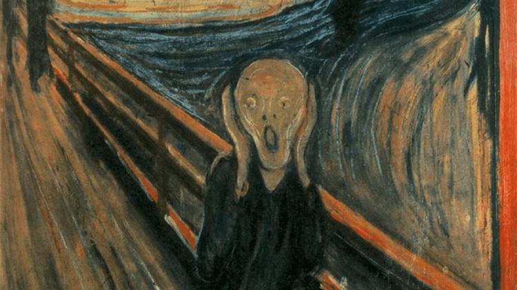 'El Grito', obra del famoso pintor noruego Edvard Munch