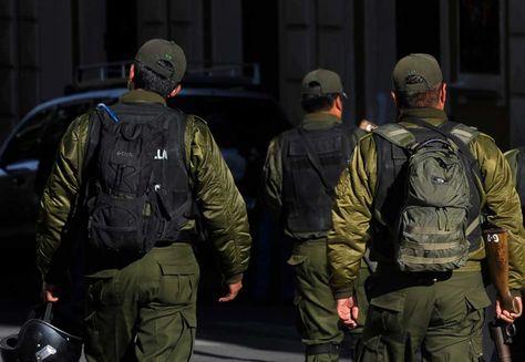 Miembros de la Policía. Foto: La Razón