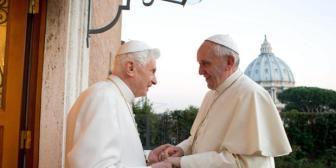 Benedicto XVI: «La elección de Bergoglio fue una gran sorpresa»