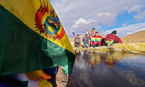 Ciudadanos bolivianos frente a los recursos hídricos del Silala.