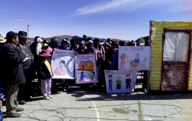 Chua Cocani un pequeño municipio donde la violencia de género es un gran problema