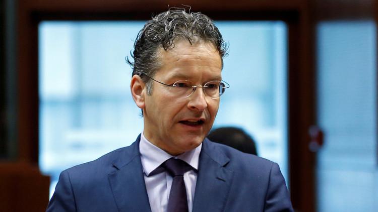 El ministro de Finanzas de Países Bajos, Jeroen Dijsselbloem